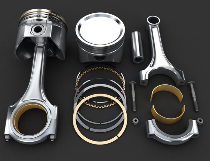 キャスティングエンジンパーツ-2